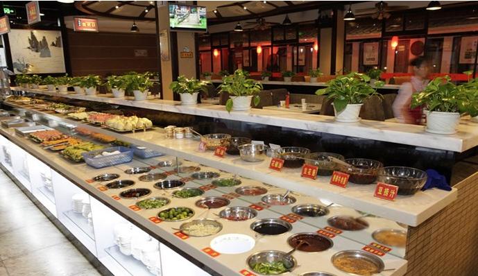 火锅加盟店流水式厨房设计参考