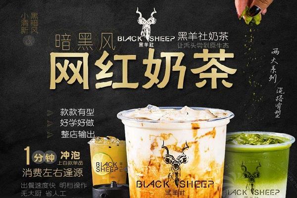 黑羊社奶茶隶属于什么公司