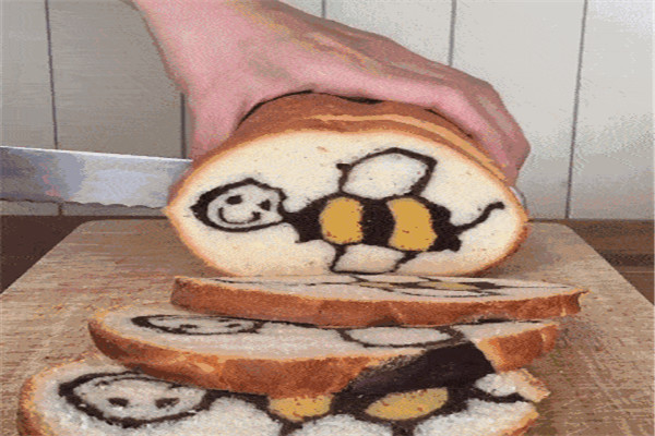 台湾小蜜蜂面包