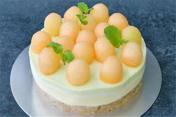 哈密瓜蛋糕