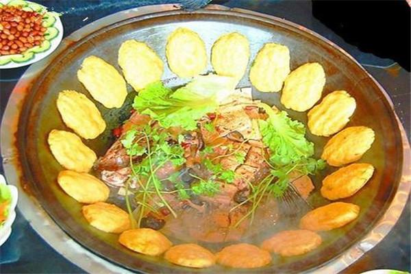 铁锅炖鱼加盟店