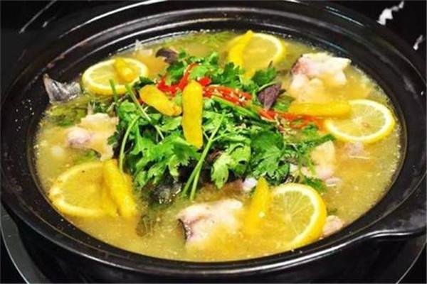 柠檬鱼专业酸菜鱼加盟