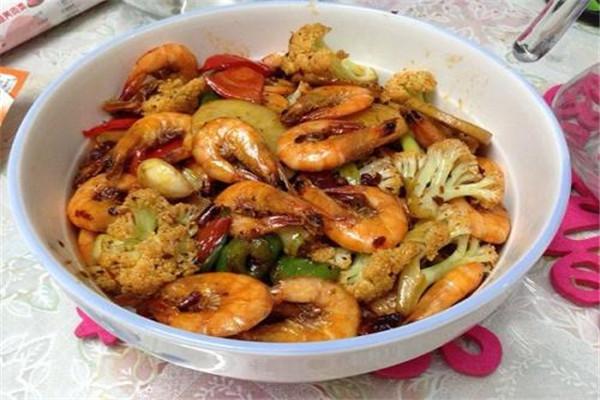 家常干锅虾
