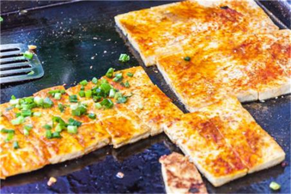 香煎豆腐小吃车
