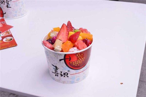 喜识嘎嘣脆炒酸奶加盟