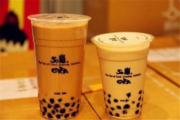 50岚奶茶加盟店