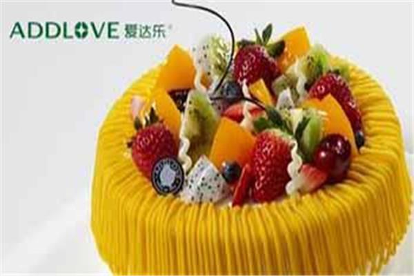 爱达乐蛋糕加盟