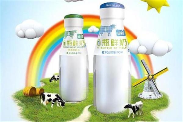 山花牛奶加盟