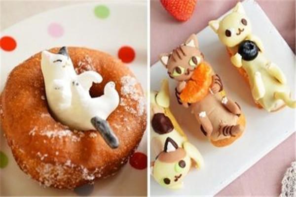 猫咪甜品屋加盟