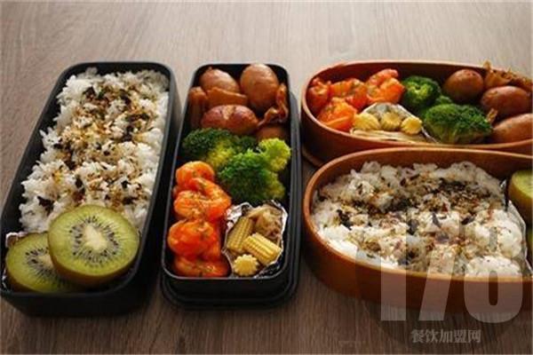 盒悦盒饭菜品