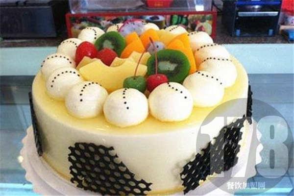 榴莲忘返蛋糕