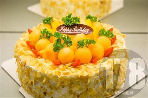 米旗蛋糕加盟