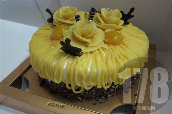 周记拔丝蛋糕