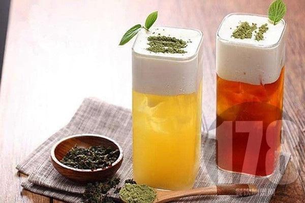 大茶杯奶茶