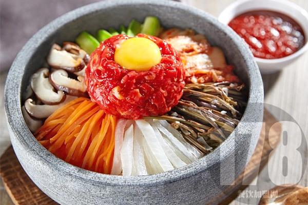 正一味石锅拌饭加盟
