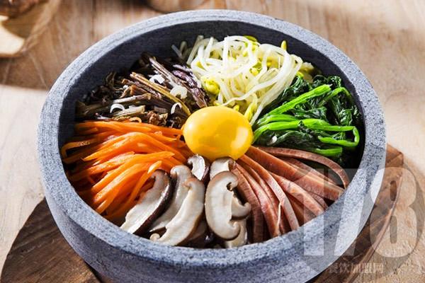 美石记韩式拌饭加盟店