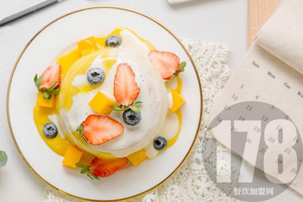 舒芙蕾法式甜点