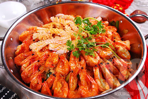 干锅香辣虾加盟